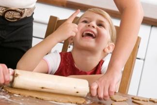 Kekse backen mit Kind